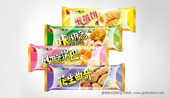 和风食品系列包装设计